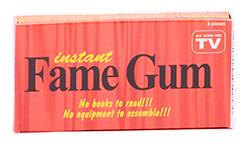 Blue Q Gum Instant Fame - Жгучая корица