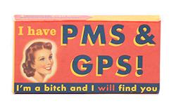 Blue Q Gum I Have PMS & GPS - Свежие фрукты