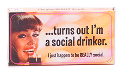 Blue Q Gum Turns Out I'm A Social Drinker - Жгучая корица