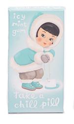 Blue Q Gum Take A Chill Pill - Ледяная мята
