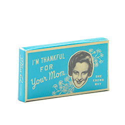 Blue Q Gum I'm Thankful for your Mom - Корица