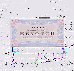 Blue Q Gum Beyotch - Перечная мята