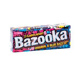 Bazooka Wallet Pack - Ежевика классический бабл гам