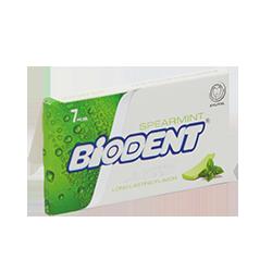 Biodent  - Сладкая мятаМятные<br>Представляем новую страну на нашем бабл гам Глобусе - Иран.<br>Новая жевательная резинка от бренда Biodent - это классический долгий вкус мяты и удобная небольшая пачка. <br>Кроме того эта жвачка не содержит сахар, а в ее формуле вместо аспартама были использованы натуральные подсластители.<br>