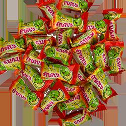 Melons Gum Balls - ДыняФруктовые<br>Детская жвачка со вкусом  сладкой дыни, внутри которой Вас ждет сочная мягкая начинка.<br>