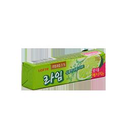 Lotte lime - ЛаймФруктовые<br>Легкая, приятная кислинка зеленого лайма + достаточно долгий вкус и аромат делают эту жевательную резинку хитом продаж.<br>Сочные яркие эмоции и хорошее настроение в каждой пачке этой жвачки!<br>