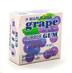 Marble bubble gum - Виноград