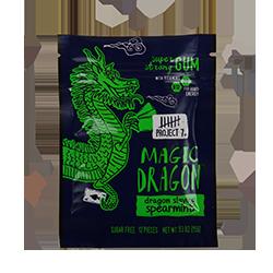 Project 7 Magic Dragon Gum - Сладкая свежая мятаМятные<br>Компания Project 7 была основана успешным предпринимателем и<br>бизнесменом Тайлером Мерриксом, который решил строить бизнес, помогая изменять<br>жизнь людей к лучшему каждый день. Так родился слоган компании: Продукты для<br>всего хорошего! Ниже изложена философия компании: Если люди будут покупать<br>вещи, много вещей, то давайте использовать те вещи, которые они покупают,<br>чтобы помочь изменить мир вокруг нас. Давайте сделаем повседневные<br>продукты для обычных людей такими, чтобы они помогали решать повседневные<br>задачи по всему миру. Часть выручки от продаж товара идет на лечение<br>больных, спасение планеты, помощь бездомным, помощь голодающим и нуждающимся в<br>питьевой воде, помощь  неграмотным, поддержку движения за мир во всем<br>мире.<br>Жевательная резинка Energy Magic Dragon Gum - это первая энергетическая жвачка, в состав которой входят витамины B12 (80% от суточной нормы в двух подушечках) и B6 (50%  от суточной нормы в двух подушечках).<br>Кроме того данная жвачка имеет двойной вкус: Сладкая свежая мята.<br>