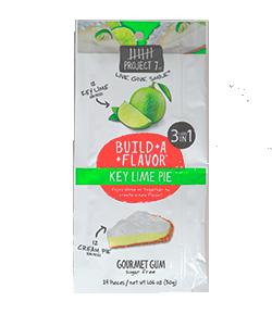 Project 7 Key Lime Pie - Лимонный чизкейкФруктовые<br>Компания Project 7 была основана успешным предпринимателем и бизнесменом Тайлером Мерриксом, который решил строить бизнес, помогая изменять жизнь людей к лучшему каждый день. Так родился слоган компании: Продукты для всего хорошего! Ниже изложена философия компании: Если люди будут покупать вещи, много вещей, то давайте использовать те вещи, которые они покупают, чтобы помочь изменить мир вокруг нас. Давайте сделаем повседневные продукты для обычных людей такими, чтобы они помогали решать повседневные задачи по всему миру. Часть выручки от продаж товара идет на лечение больных, спасение планеты, помощь бездомным, помощь голодающим и нуждающимся в питьевой воде, помощь неграмотным, поддержку движения за мир во всем мире. <br>Key Lime Pie - это особая десертная жвачка с двумя разными вкусами: кремовый чизкейк и лайм. Таким образом, покупая одну пачку, Вы получаете возможность выбора - жевать эти подушечки по отдельности или соединить их, получив необычный десертный вкус.<br>Обращаем Ваше внимание на большой размер пачки. В каждой упаковке находится 24 подушечки!<br>
