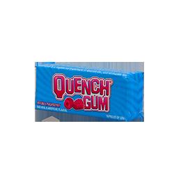 Quench Gum - Спелая малинаФруктовые<br>Quench Gum - спортивная жевательная резинка №1 в мире.<br>Марка появилась в штате Висконсин, благодаря баскетболисту,<br>фармацевту и химику по образованию - Курту Мюллеру.<br>Жевательная резинка  стала<br>популярна у профессиональных баскетболистов, т.к. первыми покупателями стали<br>спортсмены баскетбольной команды Harlem Globetrotters.<br>Буквально через 2 года ее жевали уже почти все спортсмены основных<br>баскетбольных клубов NBA. Вслед за этим резинка  стала популярна и у футболистов, и у<br>тяжелоатлетов и просто активных людей. Quench Gum - настоящая легенда!<br>В данный момент, производство этой жевательной резинки расположено в<br>Канаде.<br>Настоящая малиновая бодростьв!<br>