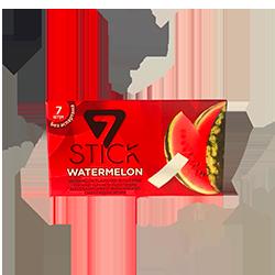 7 STICK Gum - АрбузФруктовые<br>Представляем Вам новинку из солнечной Турции - жвачка 7STICK.<br>Как Вы хорошо знаете, мы добавляем в наш ассортимент только качественные и вкусные жвачки! Эта новинка как раз такая!<br>Вся линейка жевательной резинки 7STICK  не содержит сахара и аспартама.<br>Широкая палитра вкусов (виноград, фруктовый микс, апельсин, сладкая мята, перечная мята, арбуз, дыня, банан, корица, клубника)  даст сделать выбор даже самому взыскательному гурману, а сочная консистенция и аромат удивят даже заядлых фанатов жвачки. Откройте для себя новый бренд, наполненный красками и запахами лета!<br>
