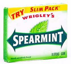 Wrigley's Spearmint - Легендарная сладкая мята