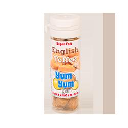 Yum Yum Gum - Английская сливочная ириска с кусочками карамели