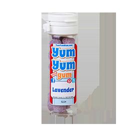 Yum Yum Gum Lavender - ЛавандаСумасшедшие<br>Название бренда переводится с англ., как вкусняшка,<br>объедение,   и такое название было<br>выбрано не зря! Удивительно вкусные, мягкие жевательные резинки точь-в-точь<br>передают вкусы любимых и всегда желанных десертов или экзотических фруктов.<br>Кроме того, эти жвачки не содержат сахара и аспартама, поэтому Вы смело можете<br>покупать их и не бояться за Вашу фигуру! Банановый крем или карамелизированный<br>поп корн, арахисовое масло или шоколадный брауни, глазированный пончик или<br>капкейк - решать Вам, чем сегодня Вы себя побалуете! <br>Данная жевательная резинка имеет вкус: лаванда.<br>Немного об этом растении: Лаванда известна как ароматическое и лекарственное растение. С давних пор нежно пахнущая лаванда применяется как средство народной медицины и натуральной косметики. Аромат лаванды стабилизирует чувство душевного равновесия. Эфирное масло лаванды находит применение как универсальное средство в косметологии, ароматерапии, лечении души и тела. <br>Интересные факты о лаванде:Лучше всех о лаванде сказал Авиценна: Это кнут для сердца и метла для мозга. <br>Гиппократ указывал, что лаванда согревает мозг, уставший от прожитых лет. <br>Знаменитый английский врач Джон Паркинсон описывал это растение как замечательное средство от всех болезней головы и мозга.<br>P.s Этот вкус имеет ограниченный тираж, успейте купить!<br>