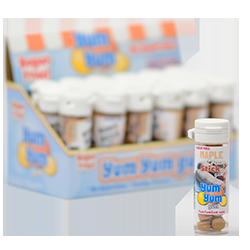 Yum Yum Gum Maple Cream Stick - Печенье, покрытое глазурью из кленового сиропаФруктовые<br>Название бренда переводится с англ., как вкусняшка,<br>объедение,   и такое название было<br>выбрано не зря! Удивительно вкусные, мягкие жевательные резинки точь-в-точь<br>передают вкусы любимых и всегда желанных десертов или экзотических фруктов.<br>Кроме того, эти жвачки не содержат сахара и аспартама, поэтому Вы смело можете<br>покупать их и не бояться за Вашу фигуру! Банановый крем или карамелизированный<br>поп корн, арахисовое масло или шоколадный брауни, глазированный пончик или<br>капкейк - решать Вам, чем сегодня Вы себя побалуете! <br>Данная жевательная резинка имеет вкус: печенье, покрытое глазурью из кленового сиропа.<br>