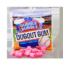 Dugout USA Gum - Классический Бабл Гам