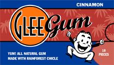 Glee Gum - Корица