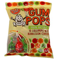 Big Pocket of Glee Pops Gum - Апельсин/Зеленое яблоко/КлубникаФруктовые<br>Glee в переводе с англ.<br>означает ликование, поэтому не случайно, что это слово стало<br>названием жевательной резинки! <br>При ее производстве используются только натуральные вытяжки<br>из смол тропических растений, а разнообразие вкусов не может не вызывать<br>радости: корица, мандарин, мята, лайм. Жуйте с ликованием, ведь это так<br> естественно! <br>Перед Вами вкусный набор (170 гр.), который состоит из 10 больших леденцов на палочке, внутри которых спрятана ароматная жевательная резинка.<br>Конфеты представлены в трех вкусах: Апельсин, Зеленое яблоко и Клубника.<br>Конфеты не красят рот, а в состав жвачки входит тросниковый сахар!<br>