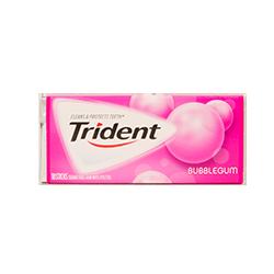 Trident - BubblegumФруктовые<br>Trident - первая<br>национальная Американская жевательная резинка без сахара! В ее рецепте сахар<br>был заменен на ксилит, что резко снизило вероятность заболевания кариесом. Это<br>была одной из первых жевательных резинок, одобренных стоматологами. Благодаря<br>гигантской линейке вкусов, сейчас бренд является одним из самых популярных в<br>США, Великобритании, Канаде, Австралии, Греции, Испании, Мексики, Португалии,<br>Венесуэллы, Марокко, Таиланде, Бразилии, Эквадора, Боливии, Аргентине и<br>Уругвае.  На каждой пачке стоит значок ADA (одобрено Американской Зубной<br>Ассоциацией).<br>