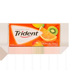 Trident - Тропический нектарФруктовые<br>Trident - это первая национальная<br>американская жевательная резинка без сахара, который был заменен на ксилит, что<br>резко снизило вероятность заболевания кариесом. Trident - одна из первых<br>жевательных резинок, одобренных стоматологами (на каждой пачке стоит значок ADA<br>(одобрено Американской Зубной Ассоциацией). Благодаря гигантской линейке<br>вкусов, сейчас бренд является одним из самых популярных в США, Великобритании,<br>Канаде, Австралии, Греции, Испании, Мексики, Португалии, Венесуэллы, Марокко,<br>Таиланде, Бразилии, Эквадора, Боливии, Аргентине и Уругвае.  <br>Настоящее попурри из вкусов<br>тропических фруктов!<br>