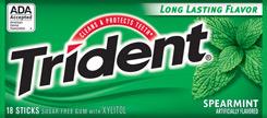 Trident - Сладкая мята