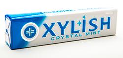 Xylish - Кристальная мятаМятные<br>Xylish gum - жевательная резинка,  достаточно популярная в Японии. Пониженное<br>содержание сахара, яркий вкус, твердая упаковка, где каждая подушечка завернута<br>в  отдельную обертку, и, конечно,<br>японское качество, все это - Xylish gum!<br>