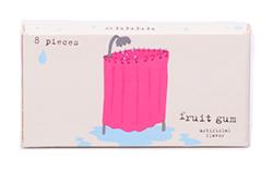 Blue Q Gum Not That I Do Weird Things - Свежие фрукты