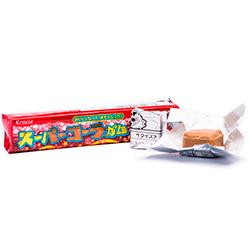 Kracie Super Cola - КолаФруктовые<br>Долго описывать этот вкус не имеет смысла, так как слово<br>Кола понятно каждому, как впрочем, и ее вкус. Добавим лишь, что в сердцевине<br>этой жвачки спрятан белый шипучий порошок, благодаря которому жвачка кажется<br>настоящей газировкой, пенящейся у Вас на языке!<br>